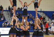 Cheerleading / Cheers and stunts