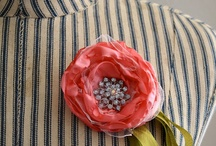 Flower craft tutorials / Flower brooch, flower craft tutorials.