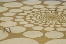 Land Art / Monumental drawings in the sand by Jim Denevan / by Nanette Johnson | MsGourmet