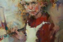 Paintings by Kim Roberti
