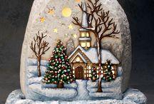Stenen kerst