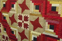 ༺ ♥ Quilting Log Cabin ♥ ༻