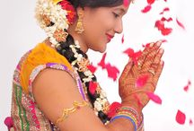 BEAUTIFUL BRIDES / BRIDES OF SOUTH INDIA.