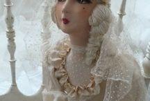 French Salon Boudoir doll
