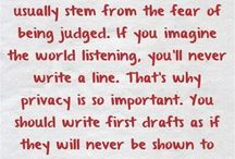 Writing / by Teresa Propernick