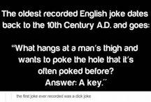 Dick jokes