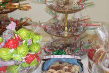 Chocoteria de Natal / Bazar de artesanato, chocolates e bijouterias. Evento anual que acontece no mês de Dezembro.