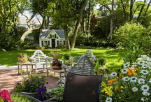 gardens and landscapes / by Hilltop House Bed & Breakfast