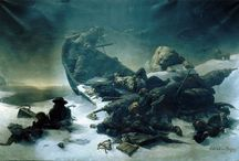 Franklin expedition 1845-18? / Paintings and pictures related with the Franklin Expedition