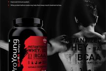 Super Whey Strawberry Punch / From Reps to weights and from vitamins to whey - more of everything all you need for your healthy day.Here's ProYoung International presenting you the super whey for your daily health!!
