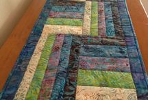 Quilt Tabel Runners (quilt) / Qiilting
