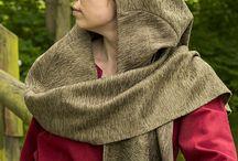 Mittelalter-Gugel und Kopfbedeckungen