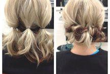 coiffures faciles. ..