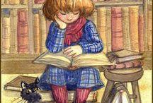 Kissat, ihmisiä ja kirjoja