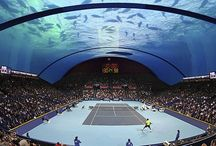 Underwater Tennis Court / Visit our site www.snorkelaroundtheworld.com Build up our snorkeling community :)