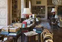 Libraries / Library interiors and rare book collections