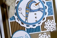 Cards Snowman / by Yvonne Comier