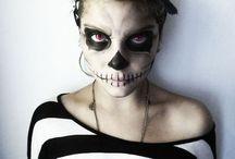 Halloween costume/makeup