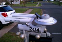 My Mailbox Collection / These particular pictures all come from my blog, Going Postal, where I celebrate the great American, Suburban, Curbside Mailbox.