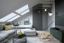Luxon Design - Mieszkanie 70m2 / Projekt wnetrza mieszkania 70m2 w Lublinie według Luxon Modern Design wizualizacje - Navi Natural Visualization #interiordesign #inspiration #interiordesigner #design #interior