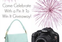 pin it to win! / by Lisbeth Pozo-Pedemonte