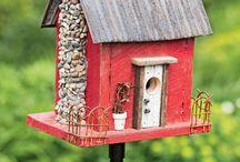 BIRD HOUSE/FAIRY DOLLHOUSE