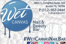 Wet Canvas Nail Bar / A glance into Austin's newest nail bar located in the #SOCO district. Opening soon.