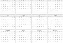 Printable 2015 Calendar Templates / Annual 2015 calendar templates. Printable blank calendars in a variety of formats