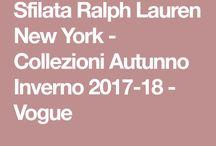 sfilata Ralph loren