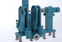 Double Disc Pumps / Double disc pumps are a type of sewage and slurry pump that transfers municipal and industrial wastewater.