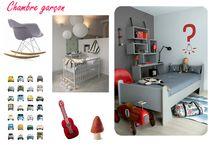 Chambre garcon / Idée chambre Lolo