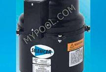 Air Blowers For Pool and Spas / http://mypool.com/Products/Catalog/bl.asp