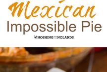 Mexican impossible  pie