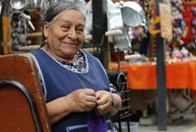Faces of Cuenca / Showing the kindness of cuencanos people.
