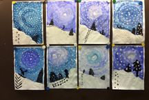 Winter Themed Art Projects