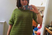 Wearable crochet for adults