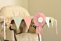 pretty party: babyglam's first birthday / by Blush Paper Co.