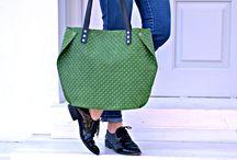 Minimalist leather bags