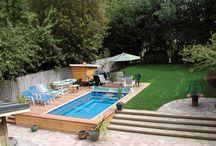 Pool + Backyard / How to integrate an endless pool into a backyard