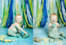 Cake Smash Inspiration / by Erin Fike