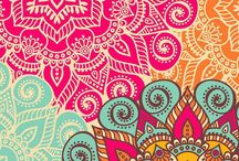 mandala pattern wallpaper