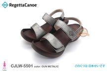 RegettaCanoe CJLW5501 / Low Wedge Shoes Style