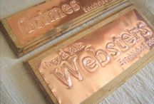 Is it Copper or Plastic? / Is your 7th anniversary gift actually made of copper?  These are all beautiful signs.  But with some the beauty is only skin deep, inside they are plastic foam.  Some are genuine copper.  Which best symbolizes your marriage?