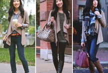 Cardigan Outfits / Style ideas for cardigans and vests.