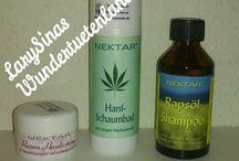 """Nektar Kosmetik /  Ich habe vor einiger Zeit drei Produkte der Firma Nektar Kosmetik, zur Verfügung gestellt bekommen. Die Produkte von Nektar Kosmetik, verzichten auf viele """"böse"""" Zusätze, welches das Auftragen zu einer """"Gesunden Sache"""" macht."""