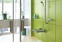 Salle de bain handicapés