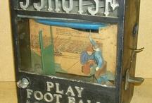 Old arcade machine
