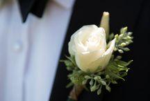 Boutonnières / Wedding adornment for men