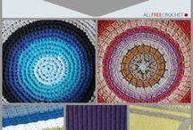 Crocheted pattern