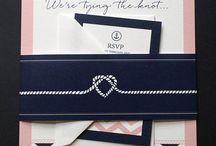 Wedding invitations B&B